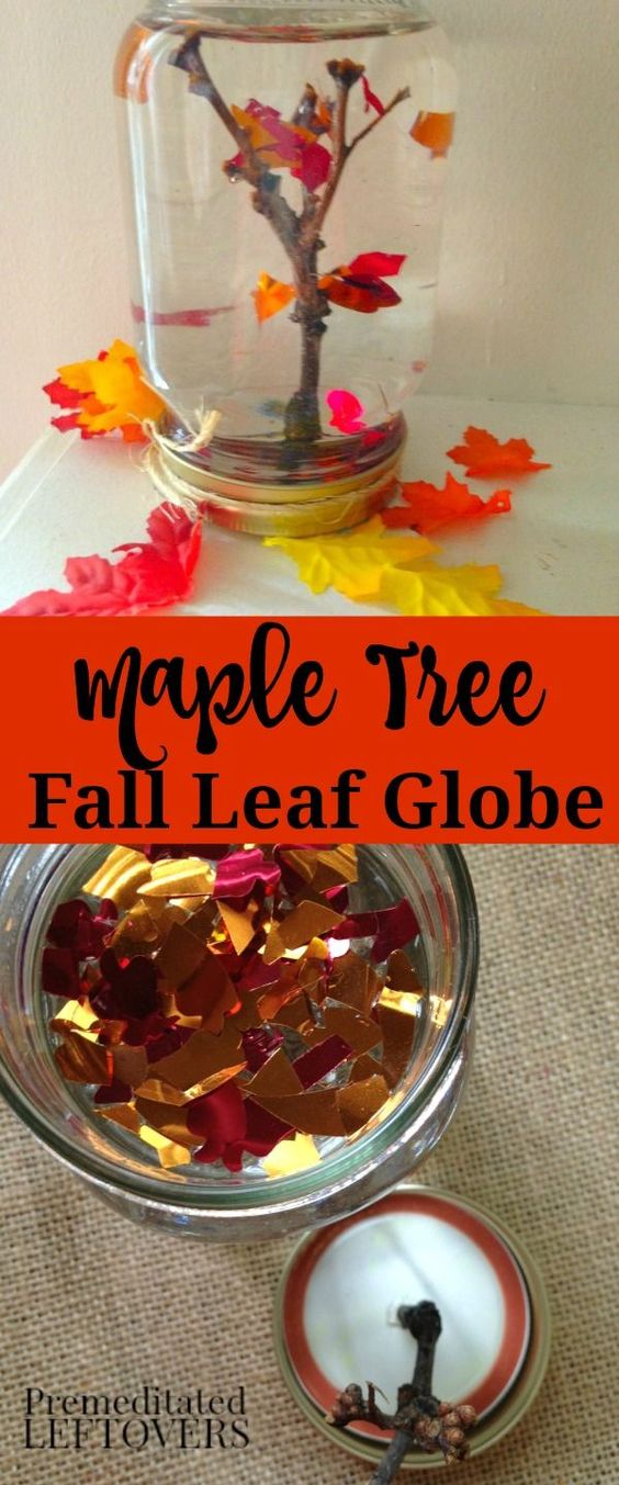 Maple Tree Leaf Globe.