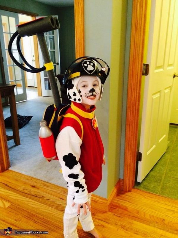 Paw Patrol Marshall Costume  .