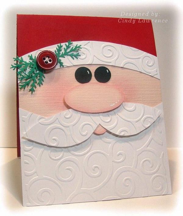Santa Christmas Card.