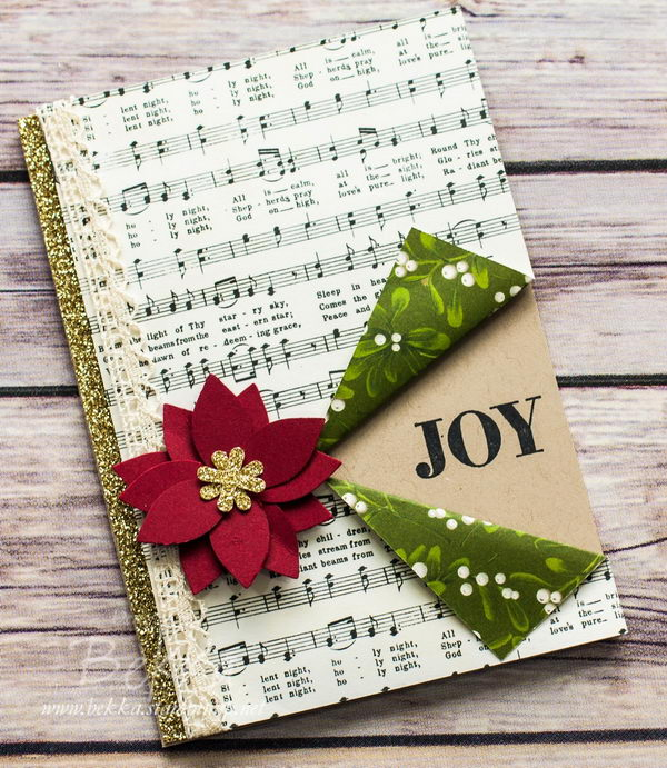 Musical Joy Christmas Card.