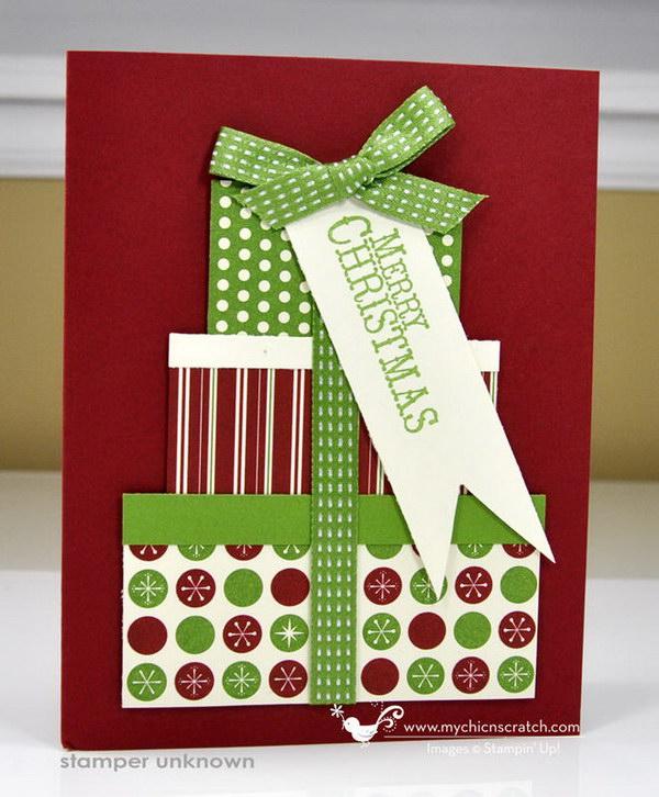 Christmas Present Card.