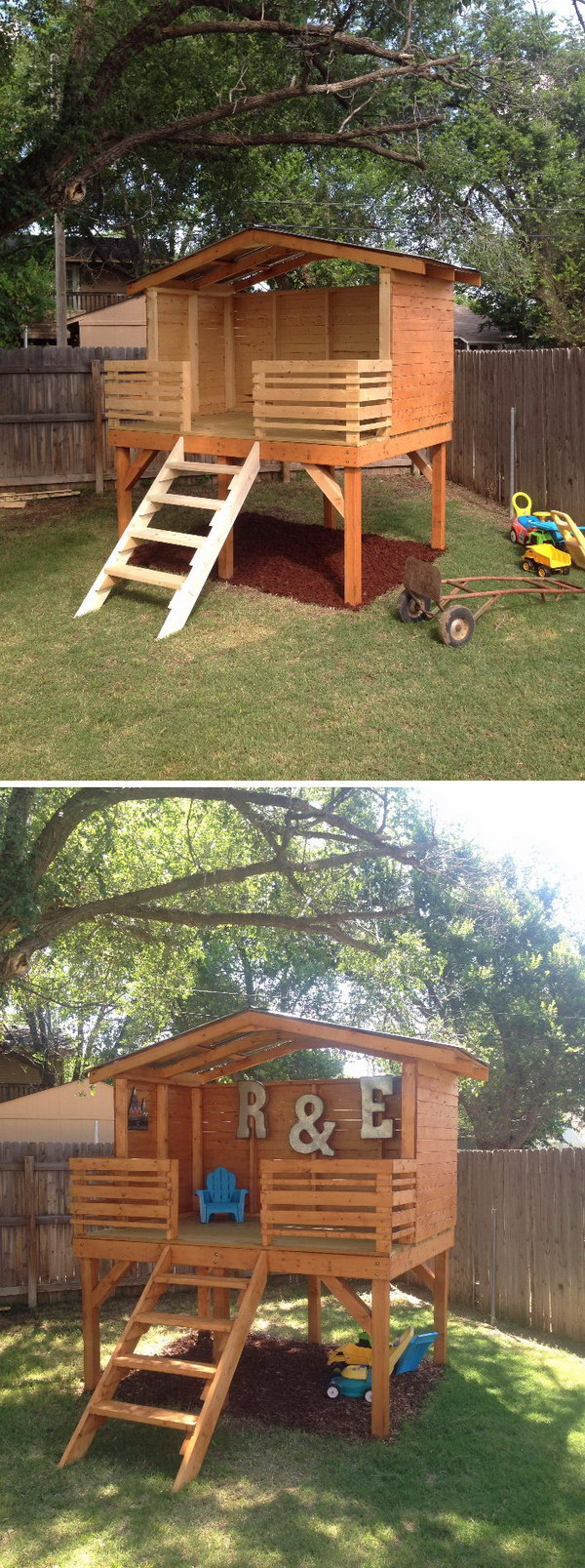 DIY Play Fort.