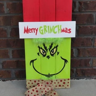 DIY Grinch Christmas Crafts and Decorations