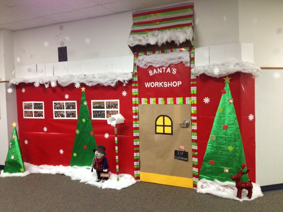 Awesome classroom decorations for winter christmas - Creative decoration ideas for home without ripping you off ...
