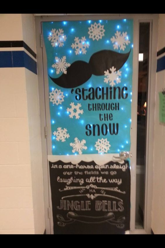 Classroom Windows Decoration Ideas ~ Awesome classroom decorations for winter christmas