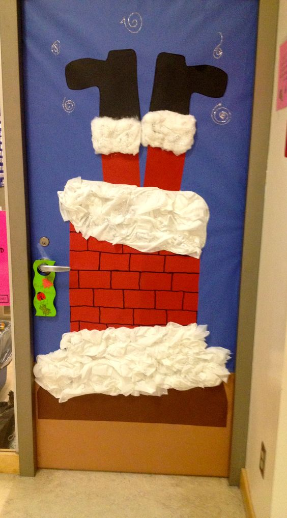 Christmas Door Decoration.