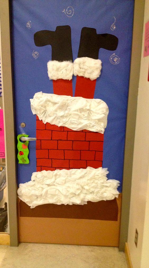 Christmas Door Decoration.