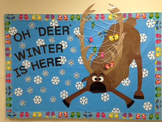 Oh 'Deer' Winter Is Here.