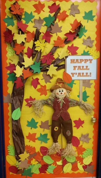Fall Door Decoration.