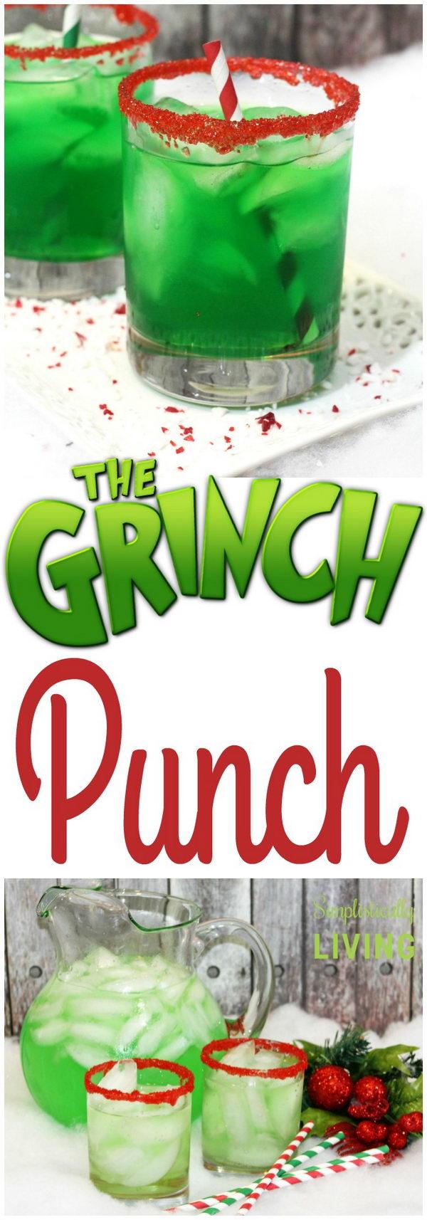 Grinch Punch.