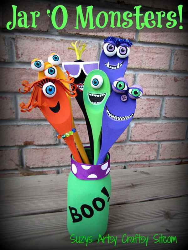 25 Fun and Easy Halloween Crafts For Your Kids - photo#43