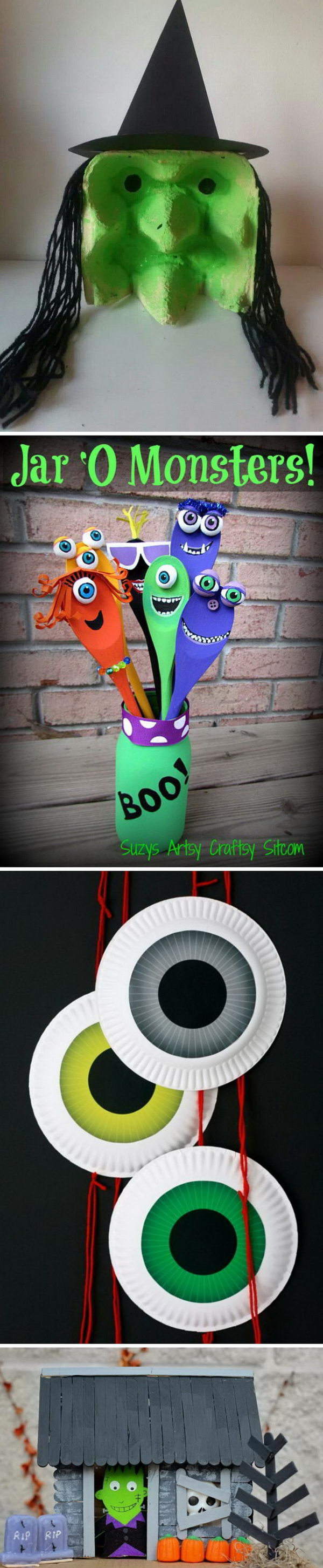 Fun and Easy Halloween Crafts For Your Kids!