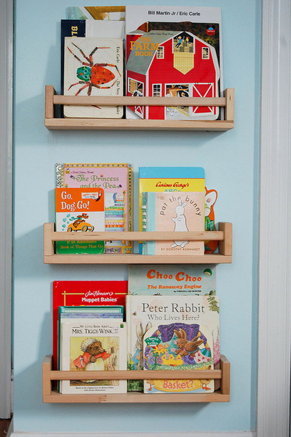 Quick and Easy Book Storage.
