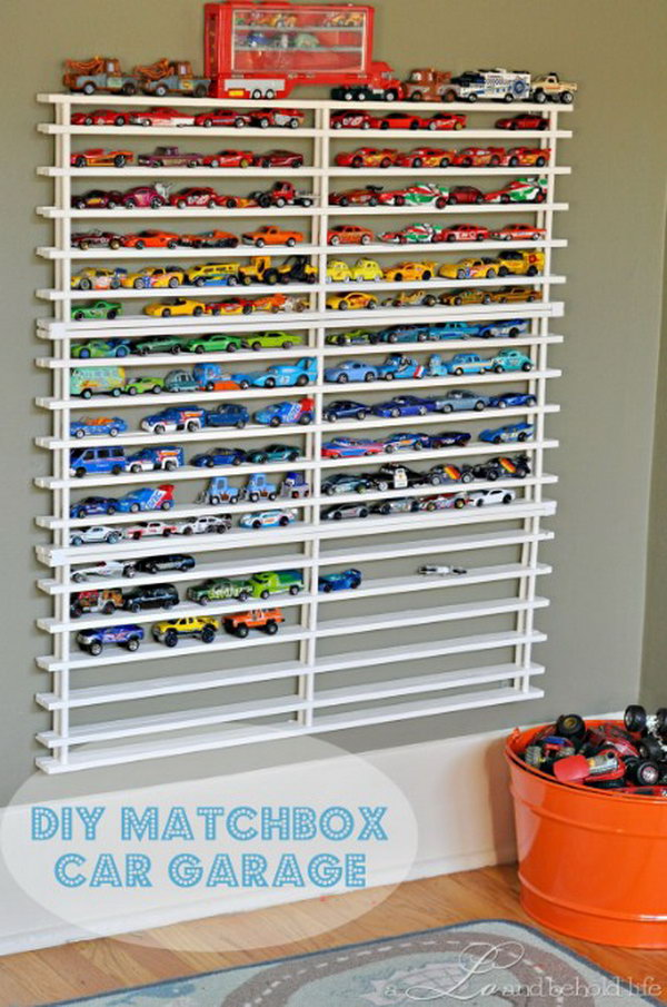 Matchbox Car Garage.