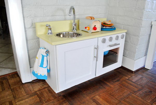 Cabinet and Plywood Kitchen. Get the instructions