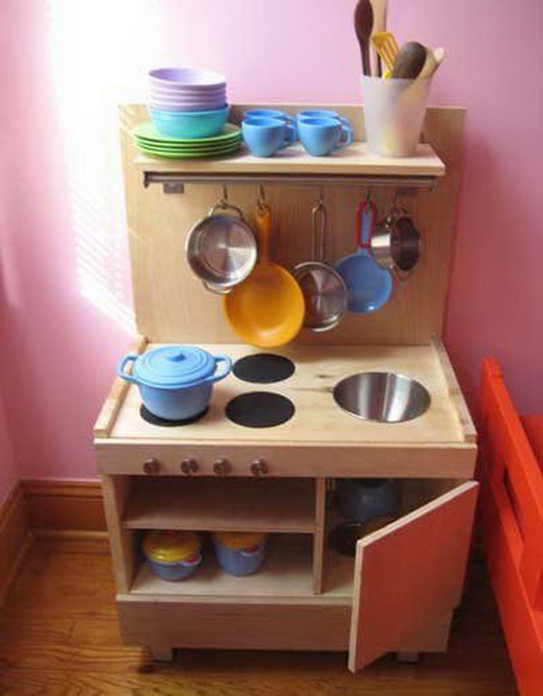 25 diy play kitchen ideas 28 images 25 diy play for Play kitchen designs