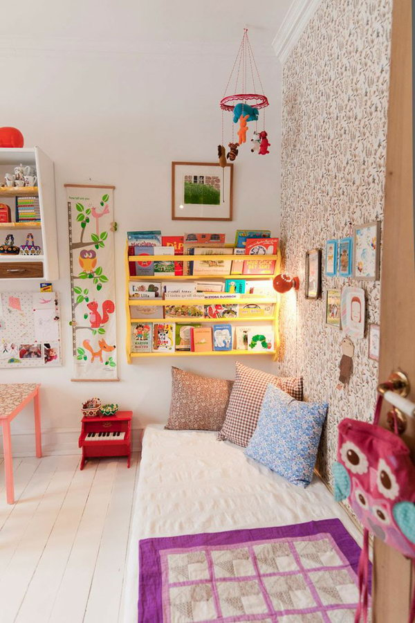 Beautiful Reading Nook For Kids