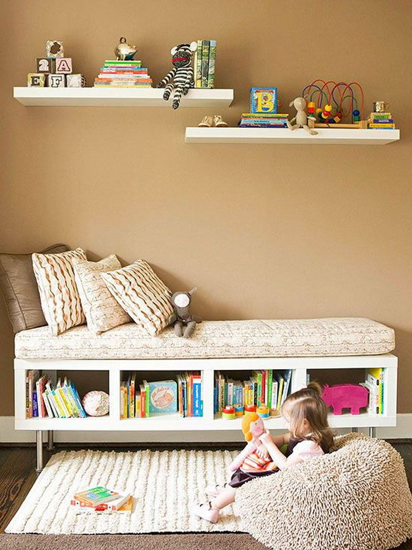 30 creative and cozy reading nooks for kids for Kids reading corner ideas