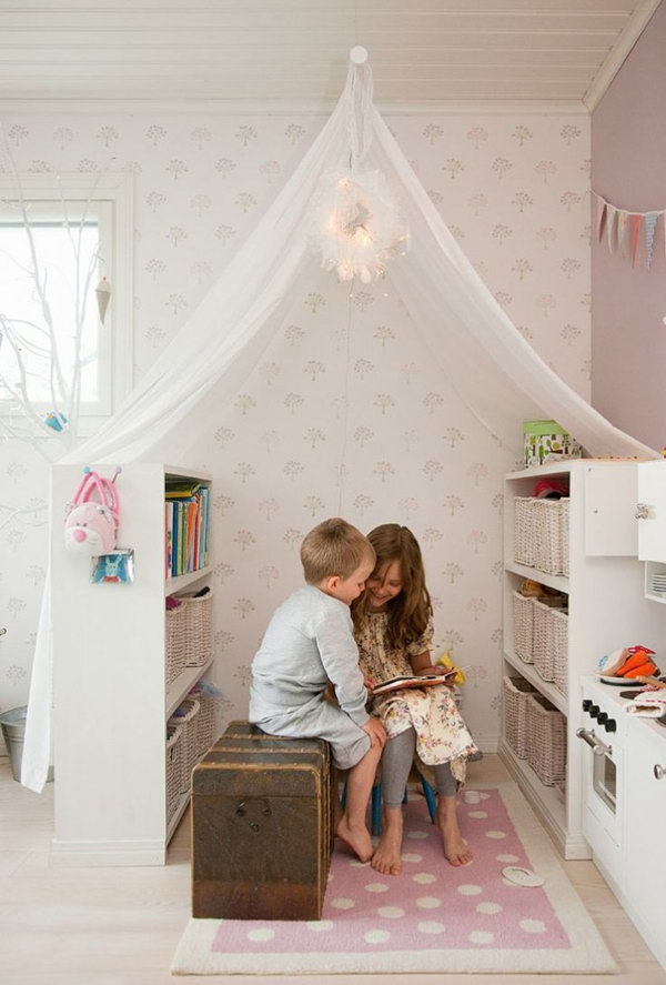 Fantastic Reading Nook For Kids