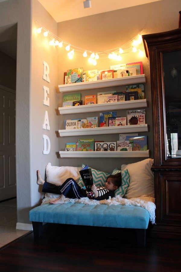 Beautiful Small Bedrooms: 30+ Creative And Cozy Reading Nooks For Kids