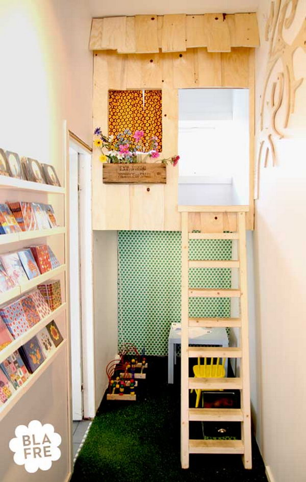 Indoor Tree House for Reading