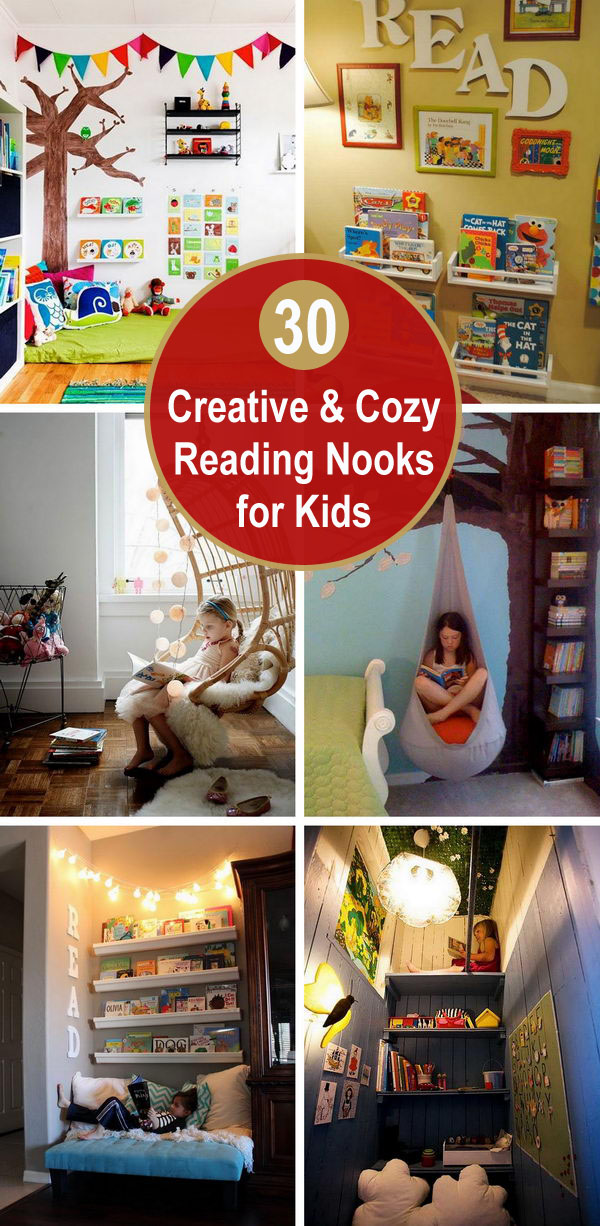 30 Creative and Cozy Reading Nooks for Kids.