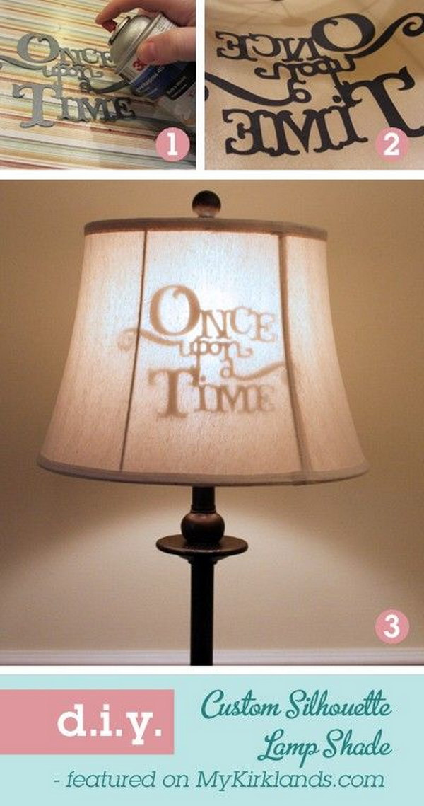 'Once Upon a Time' Lampshade.