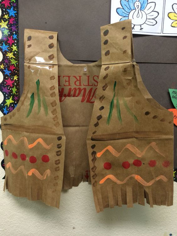 Thanksgiving Indian Vest.