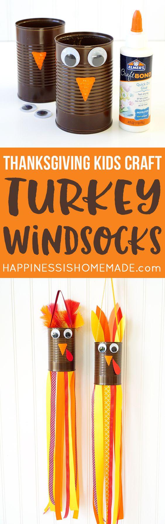 Turkey Windsocks.