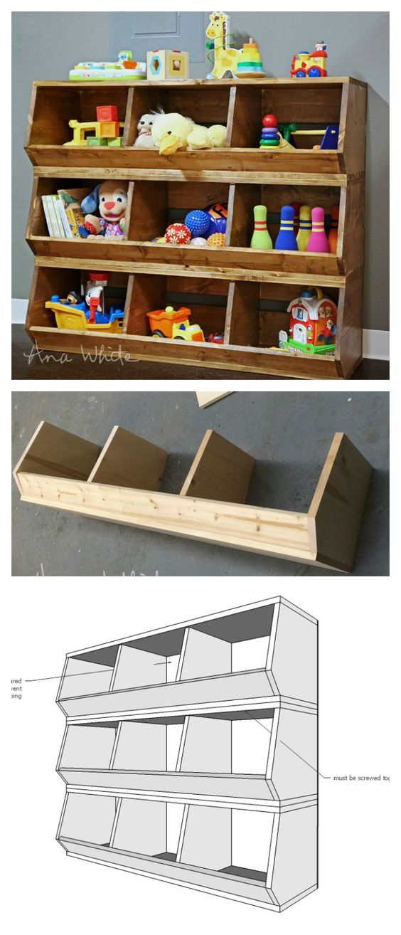 Kitchen Storage Box Images 25 Clever Diy Toy Storage