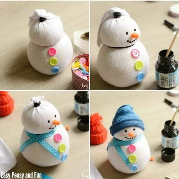 1 diy snowman crafts for kids thumb