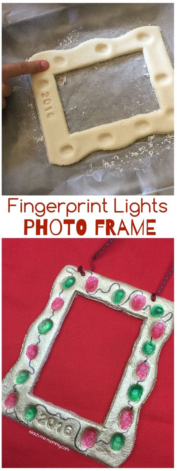 Fingerprint Lights Photo Frame.