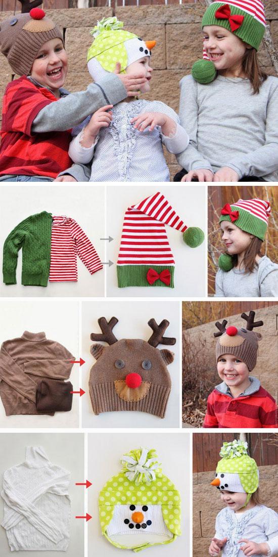 Christmas Character Hats.