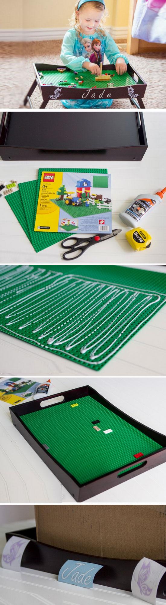 Lego Tray Play Station.
