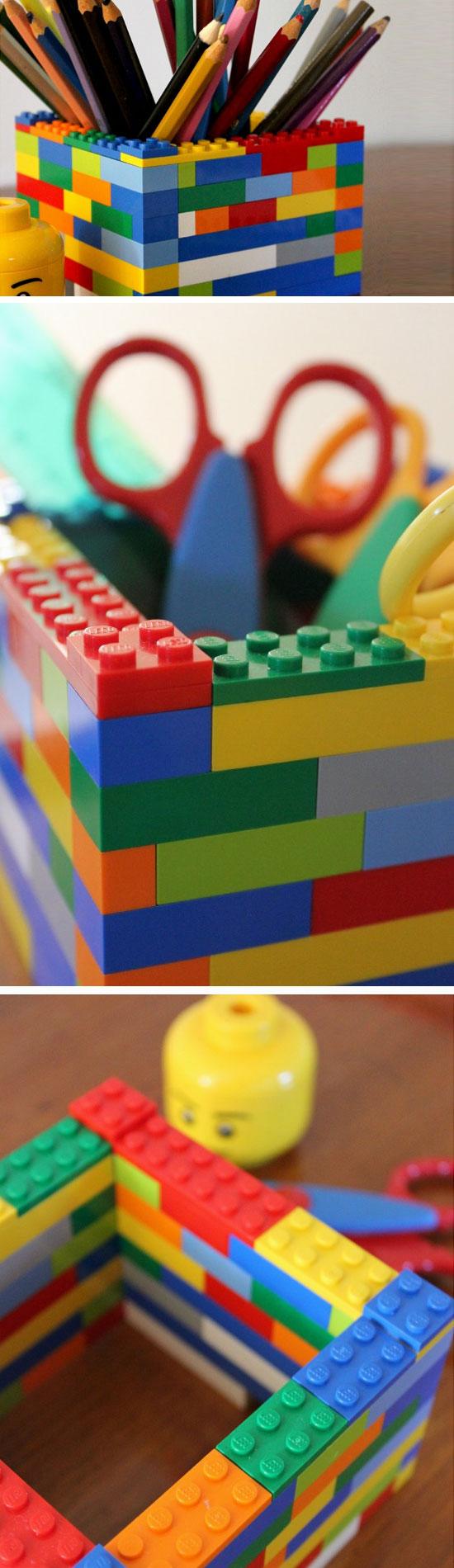 Lego Desk Organizer.