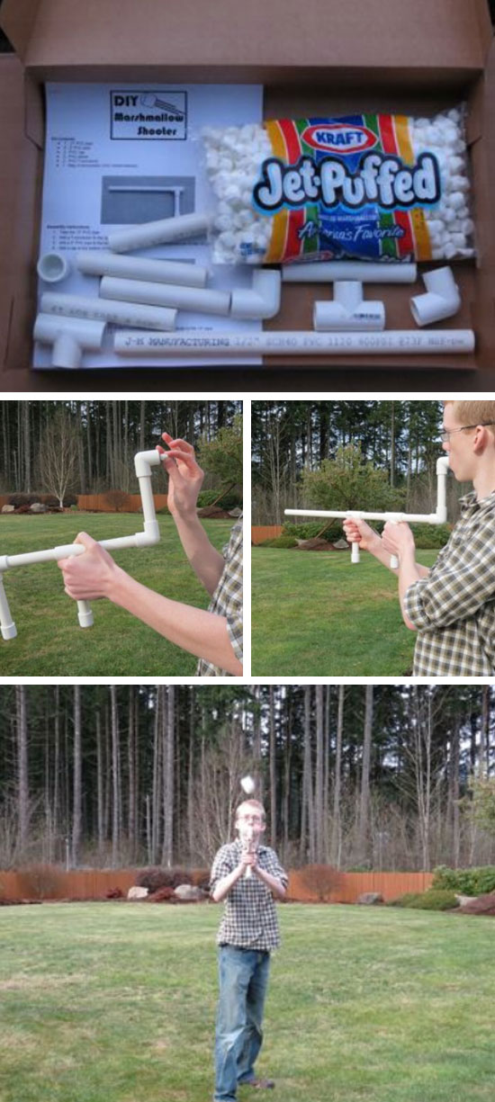 DIY Marshmallow Shooter.