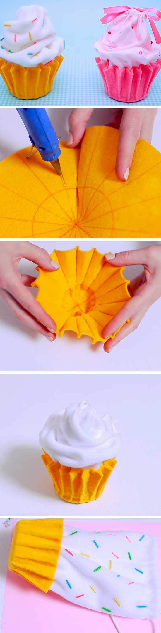 Cupcake Pouch.