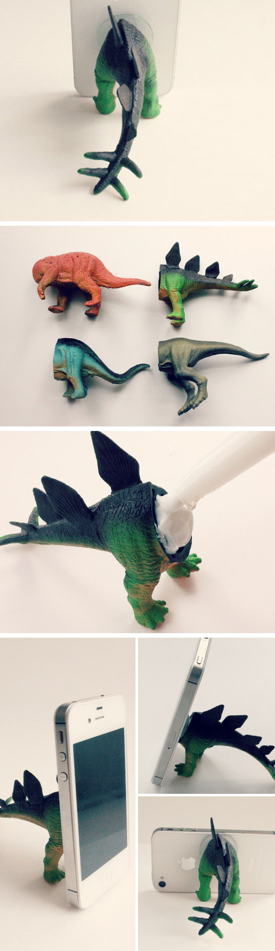 Dino iPhone Tripod.
