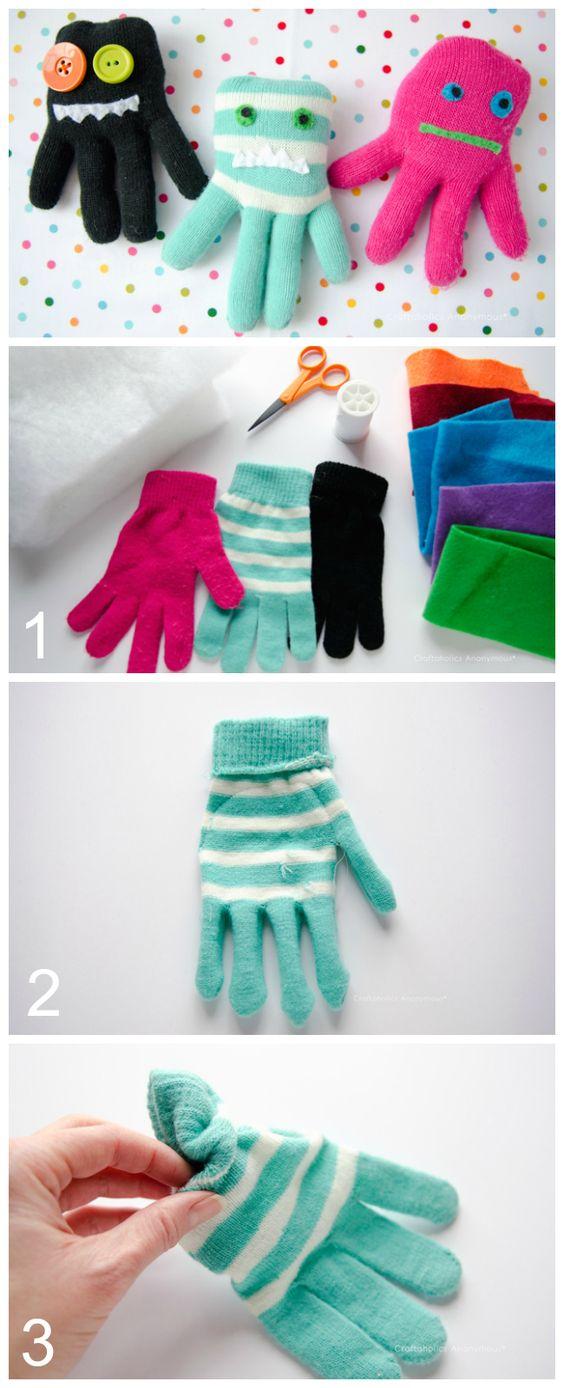 Glove Monsters.