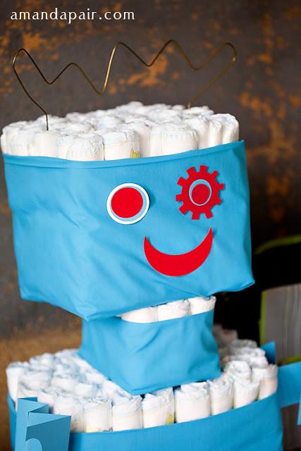 Diaper Robot.