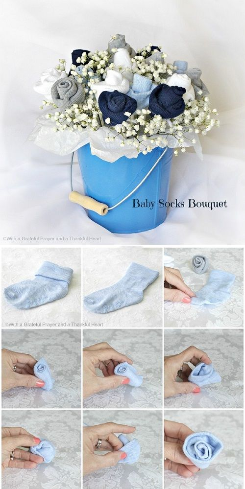 Baby Socks Flower Bouquet.