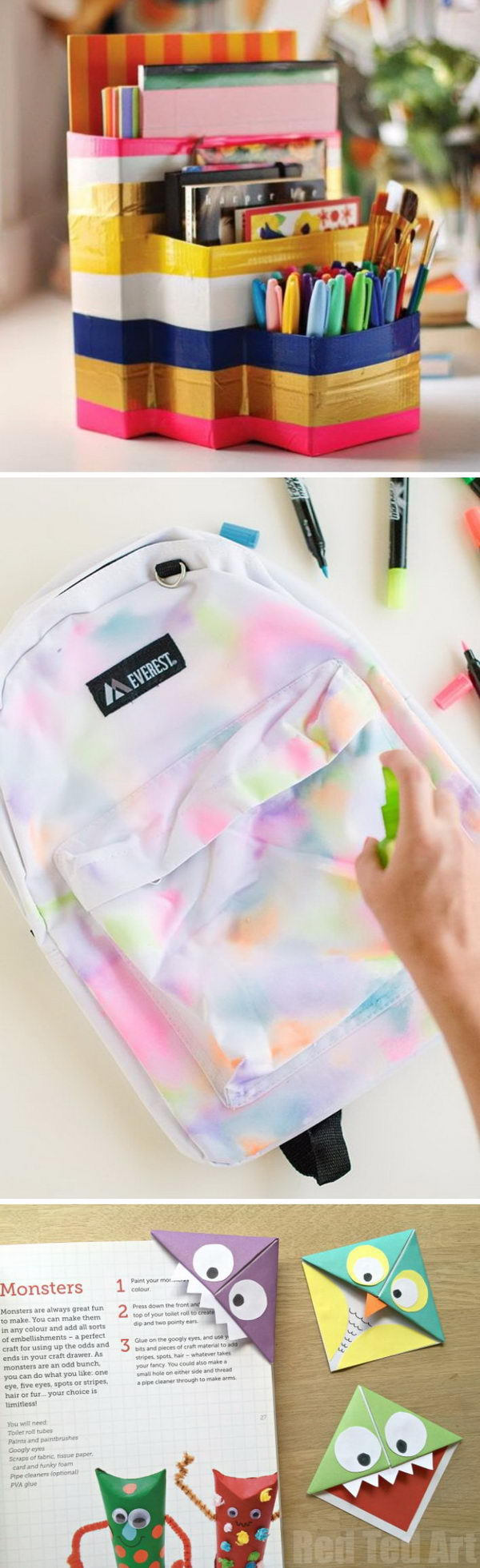 Creative Back to School Ideas For Students.