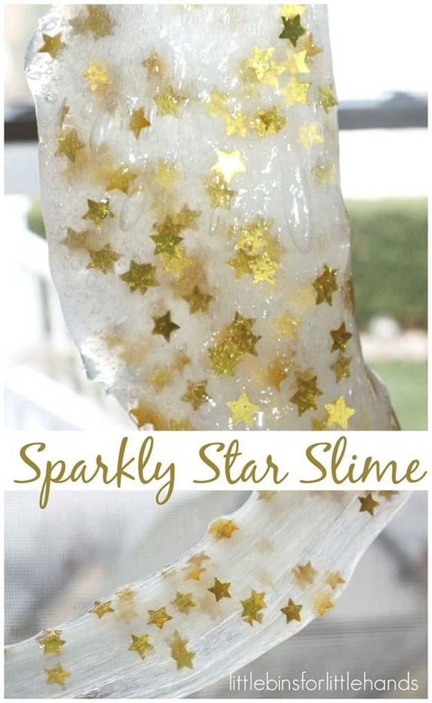 Star Confetti Slime.