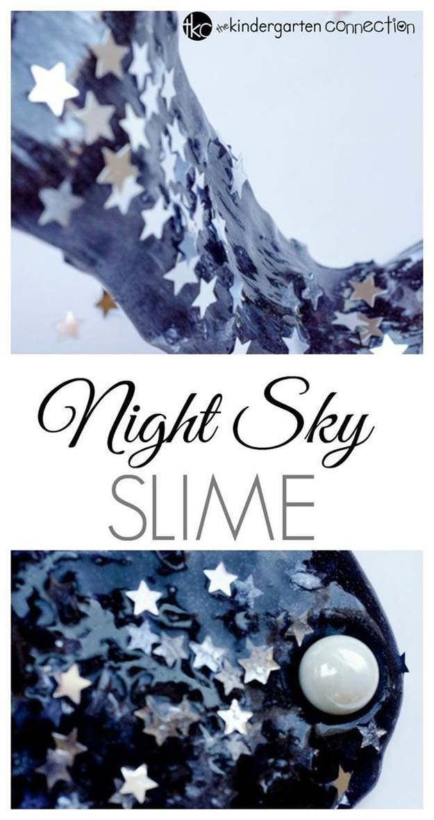 Starry Night Sky Slime.