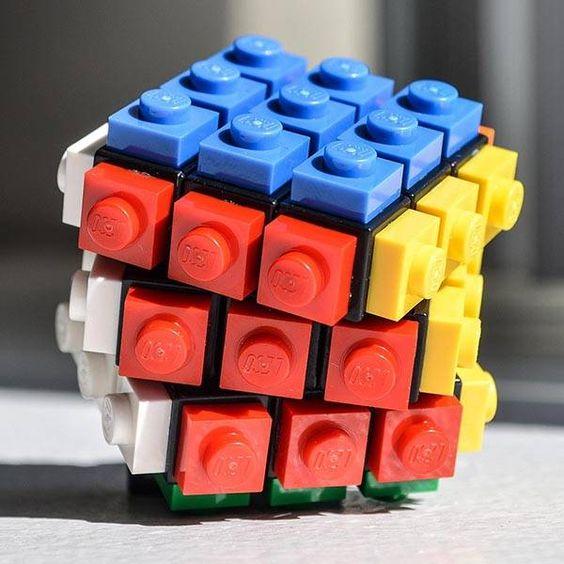 Lego Rubrick Cube.