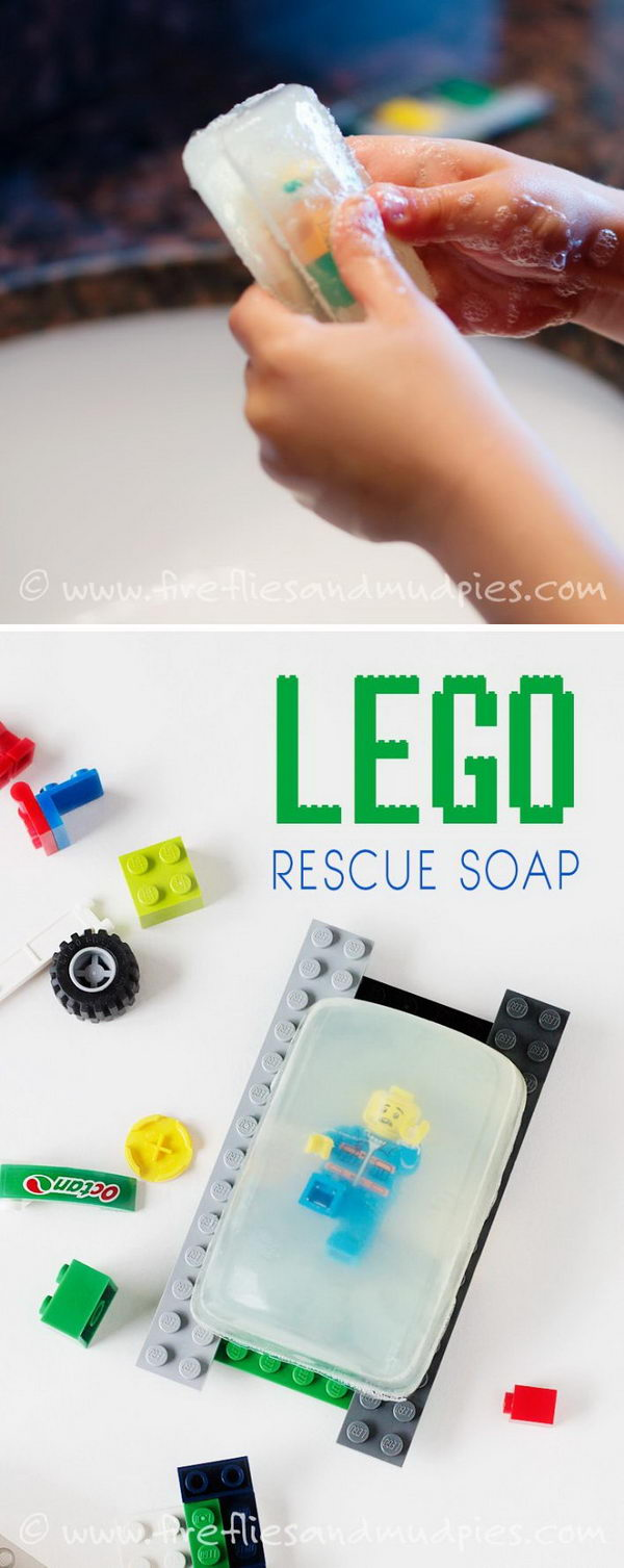 Lego Rescue Soap.