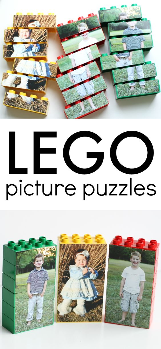 Lego Picture Puzzles.