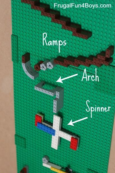 Lego Marble Run.
