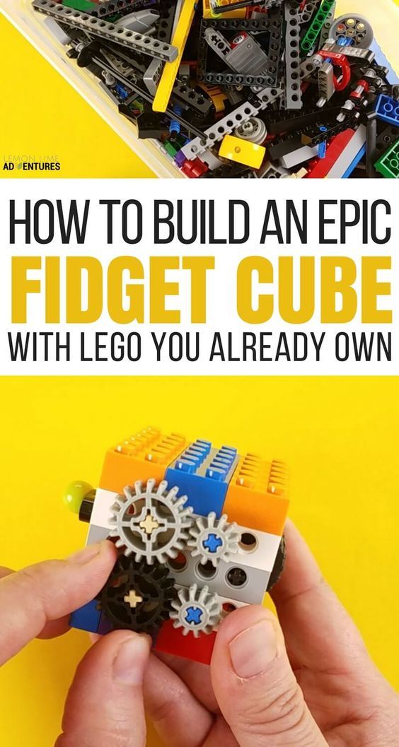 How to Make an Epic DIY Lego Fidget Cube.