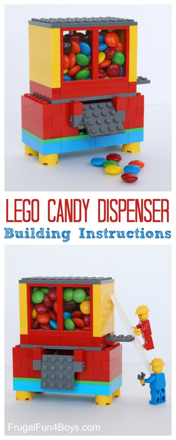 Lego Candy Dispenser.